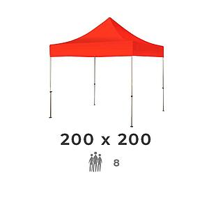 Zelt 200x200 2m
