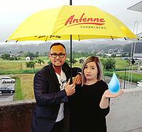 Regenschirm Antenne Vorarlberg