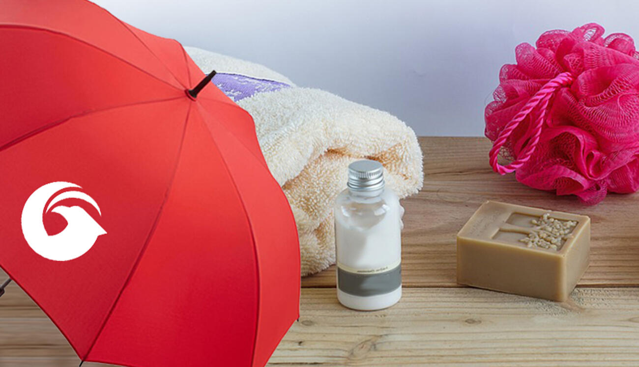 Regenschirm Pflege und Reinigung