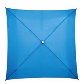 quadratischer Schirm geöffnet