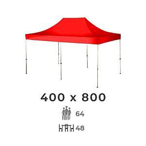 Zelt 400x800 4m