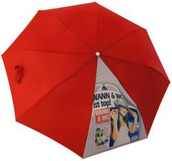 Sublimationsdruck auf Regenschirm