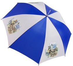 Transferdruck auf Regenschirm