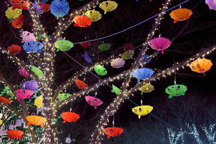 Regenschirm Deko