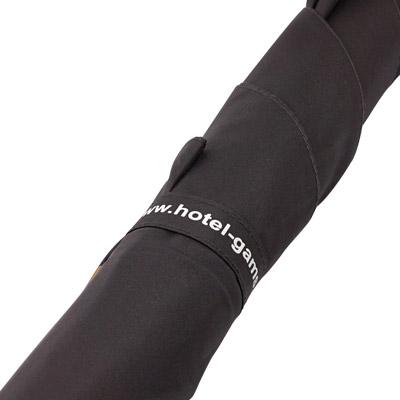 Regenschirm Schließband bedruckt