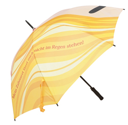 Regenschirm mit vollflächigem Bilddruck